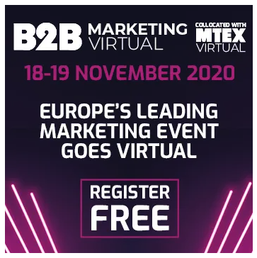 B2B Marketing Virtual Expo 2020 Register free here