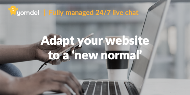 New Normal website live chat